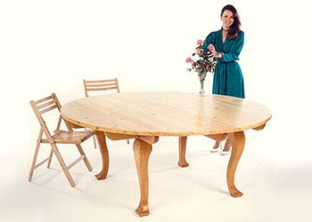 Storable Flat-Pack Dining Table